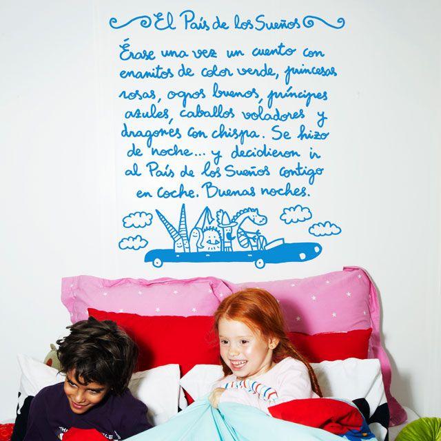 Decorar paredes para ni os vinilos blog de urbincasa - Paredes para ninos ...