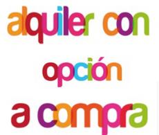 alquiler con opcion a compra en Cartagena