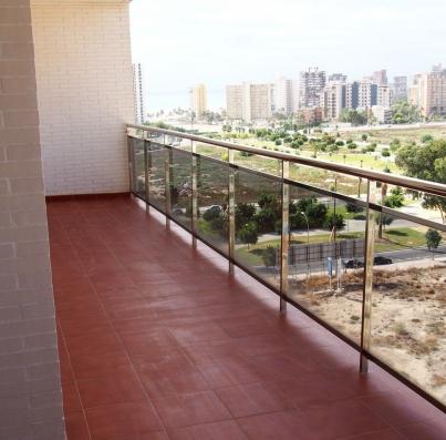 Amplias terrazas