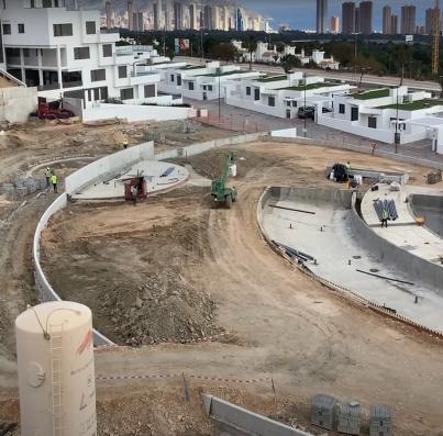 Avance obras marzo 2021 - Urbanización