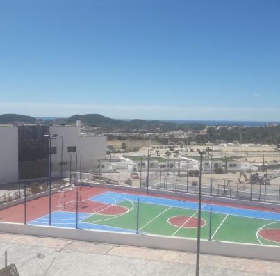 Avance obras mayo 2021 pista polideportiva