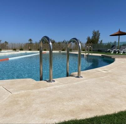 Avance obras julio 2021 - piscina