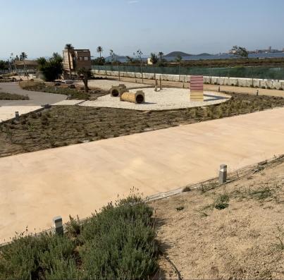 Avance obras - zonas comunes julio 2021