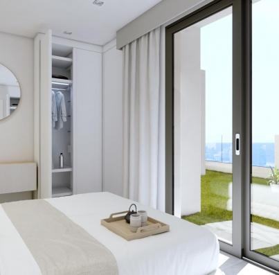 Residencial Jaloque dormitorio ático