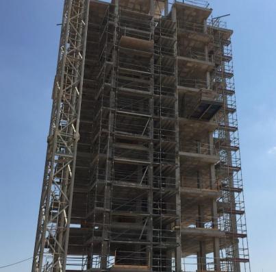 Estructura terminada. Julio 2019